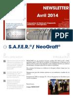 FR - Newsletter N°2 Avril - Mai - Juin 2014