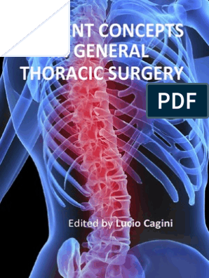 Current Concepts General Thoracic Surgery i to 12 | Lung