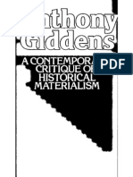 GIDDENS - 1981 - Power Property and State - Contemporary Critique Hist Mat