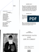 Popovic - Orthodox Faith and Life in Christ