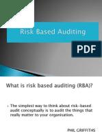 Risk Based Auditing