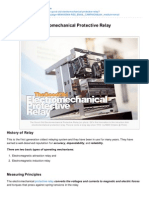 Electrical-Engineering-portal.com-The Good Old Electromechanical Protective Relay