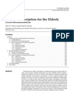 Exercise Prescription for Elderly