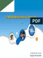 24 IP MSAN Maintenance Commands -10