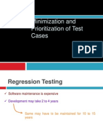 Minimization and Prioritization of Test Cases