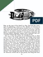 Edmund Wilson, Poe as a Literary Critic