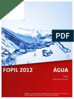 Fopil Água 2012