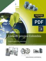 Lista de Precios Colombia