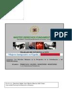 TRABAJO MUJERES INMIGRANTES EN ESPAÑA Y  LA VIOLENCIA DE GENERO