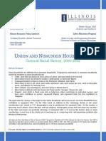 ILEPI Summary - Union & Nonunion Households