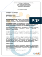 Guia Rubrica Actividad 10 Trabajo Colaborativo 2 2014-1