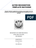 CharRecog Template Matching