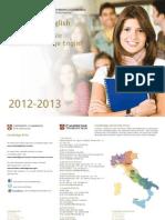 Cambridge+English+Exams+Catalogue 2012 2013