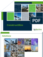 Bentley Construct Sim Overview