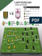 Infograma Copa Libertadores 8vos