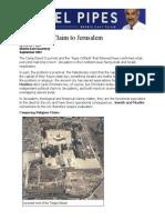 Daniel Pipes the Muslim Claim to Jerusalem