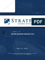 170821_stratfor - q2 2011 Forecast