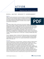 173299_STRATFOR Travel Security Assessment Example