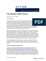 174182_stratfor - The Jihadist Cbrn Threat