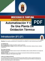oxidacion termica