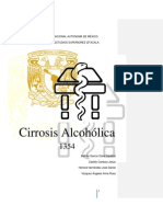 Cirrosis alcohólica