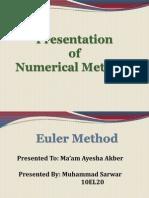 Basics of Euler Method