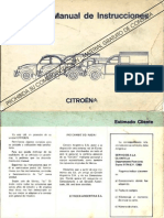 Manual de Usuario 3cv AK Mehari