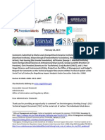 Competitive Enterprise Institute and Cooler Heads Comment Letter to Office of Management and Budget Technical Support Document on Social Cost of Carbon