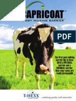 Capricoat Post Milking Barrier Brochure