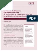 Politicas de Brazil y Europa