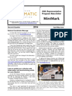 2014 Second Quarter Edition of Mint Mark