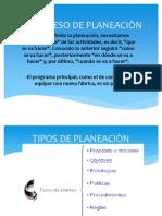 EL PROCESO DE PLANEACIÒN EXPOSICION