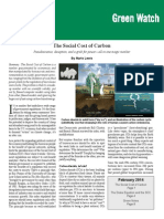 Marlo Lewis Capital Research Center - The Social Cost of Carbon