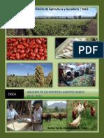 Anuario de Estadisticas Agropecuarias 2012-2013