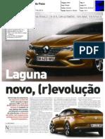 "NOVO RENAULT LAGUNA NA ""AUTO FOCO"""