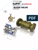 SUPERLOK - Block & Bleed Valve