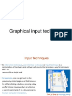 Graphical in Put Techniques