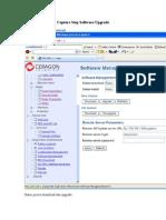 Capture Step Software Upgrade IP-10