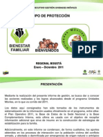 Informe Ejecutivo de Gestion 2011