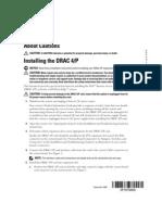 PE Installing DRAC 4P