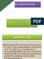 Report Presentation MSETCL kalwa