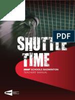 Badminton Teachers Manual