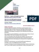 0000-00-00 Tax Authority whistle-blower Rafi Rotem - records and links in chronological order // חושף השחיתויות ברשות המסים רפי רותם - כתבים וקישורים בסדר כרונולוגי