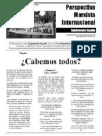 Revista Perspectiva Marxista Internacional - Suplemento España