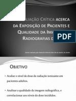 Apresentação de Proteção Radiológica
