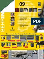 Behringer 2009 Catalog En