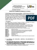 Tomada de Preços 012014 Reforço Estrutural do RU