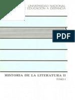 Uned - Historia de La Literatura II Vol 1