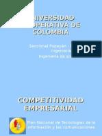Plan Tic´s competitvidad empresarial