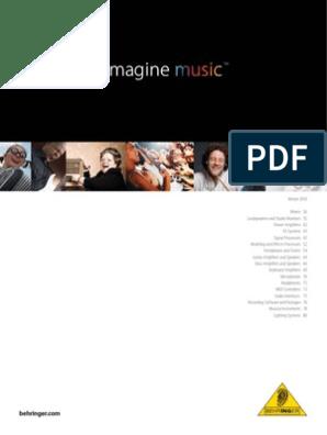 Behringer Catalog 2010 | Loudspeaker | Microphone